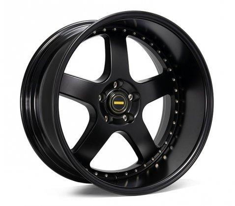 20x10 Simmons FR-1 Flow Form Satin Black - Simmons Wheels