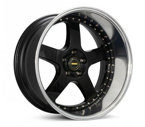 20x10 Simmons FR-1 Flow Form Gloss Black - Simmons Wheels
