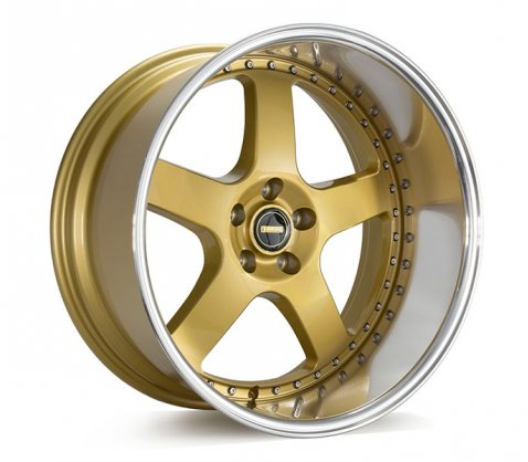 20x10 Simmons FR-1 Flow Form Gold - Simmons Wheels