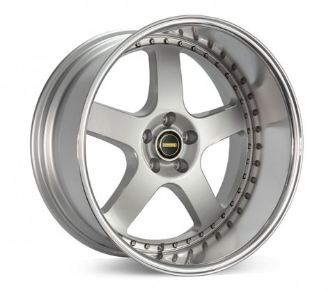 20x10 Simmons FR-1 Flow Form Silver - Simmons Wheels