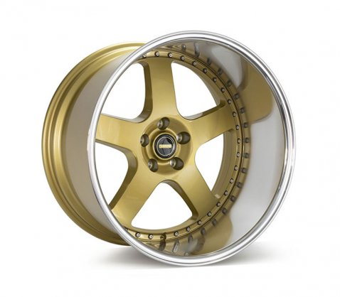 20x12 Simmons FR-1 Flow Form Gold - Simmons Wheels