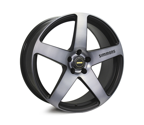 20x8.5 20x10 Simmons FR-C Black Tinted