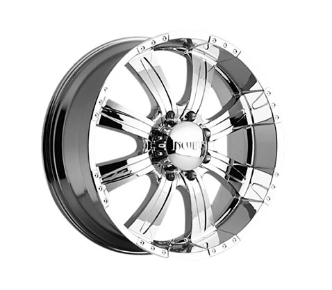 20x9.0 Incubus Poltergeist - Chrome - Incubus Wheels
