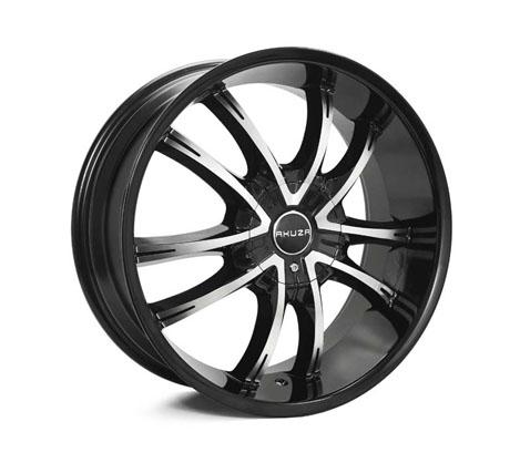20x8.5 Akuza 847 Shadow - Akuza Wheels