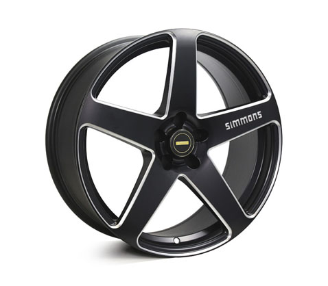 20x8.5 20x10 Simmons FR-CS Satin Black