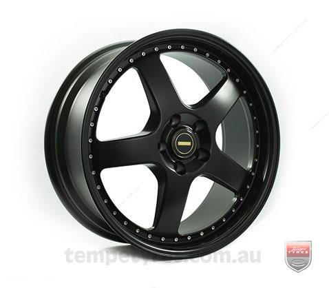 19x8.5 19x9.5 Simmons FR-1 Satin Black