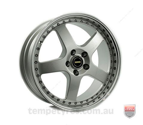 19x8.5 19x9.5 Simmons FR-1 Silver