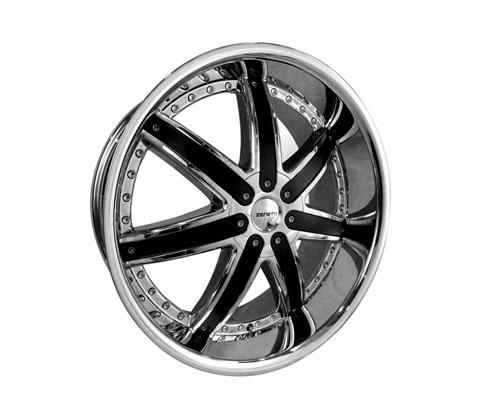 24x10 Zenetti 1477 Chrome - Zenetti Wheels