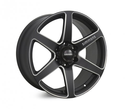 20x9.0 Simmons S6S Matte Black