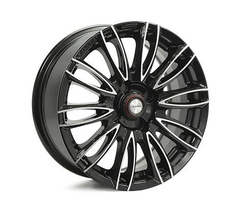 15x6.5 Samurai Endo BKF - Samurai Wheels