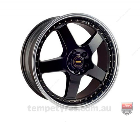 20x8.5 20x9.5 Simmons FR-1 Gloss Black