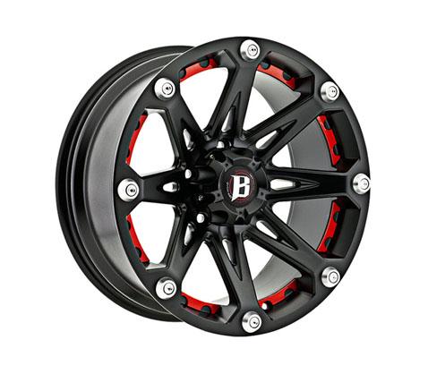 18x9.0 Ballistic Jester - Ballistic Wheels