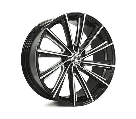 17x8.0 Lenso Black Angel V3