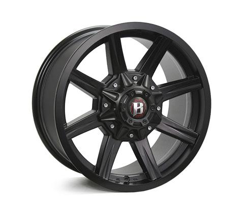 18x9.0 Ballistic Razorback - Ballistic Wheels
