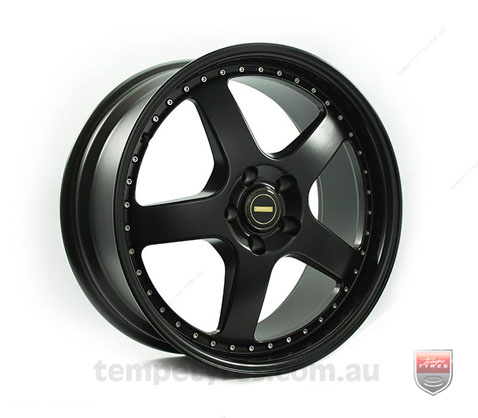 19x7.0 19x8.5 Simmons FR-1 Satin Black