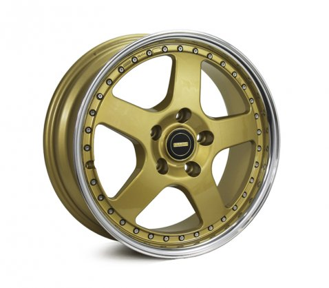 17x7.0 17x8.5 Simmons FR-1 Gold - Simmons Wheels