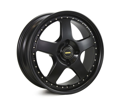 17x7.0 17x8.5 Simmons FR-1 Satin Black