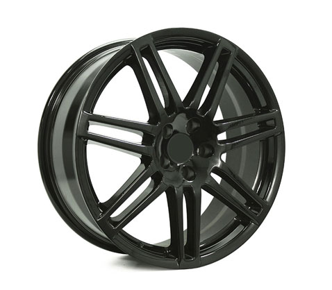 18x8.0 Style201 Black - Style By AU