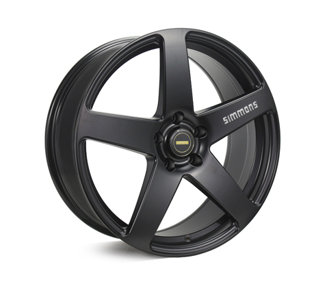 20x8.5 20x10 Simmons FR-C Full Satin Black