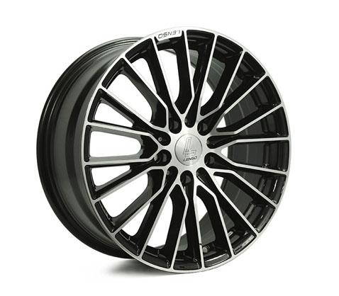 18x8.0 Lenso Eurostyle C ESC - Lenso Wheels