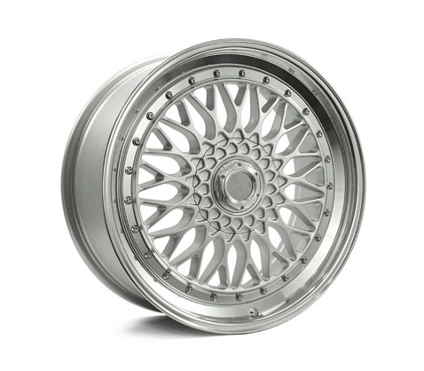 16x7.5 Lenso BSX Silver