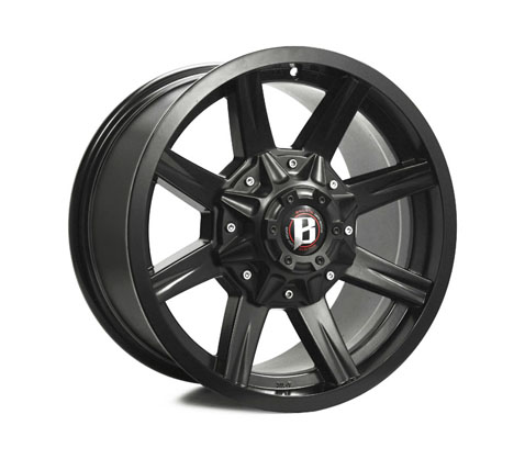 17x9.0 Ballistic Razorback - Ballistic Wheels